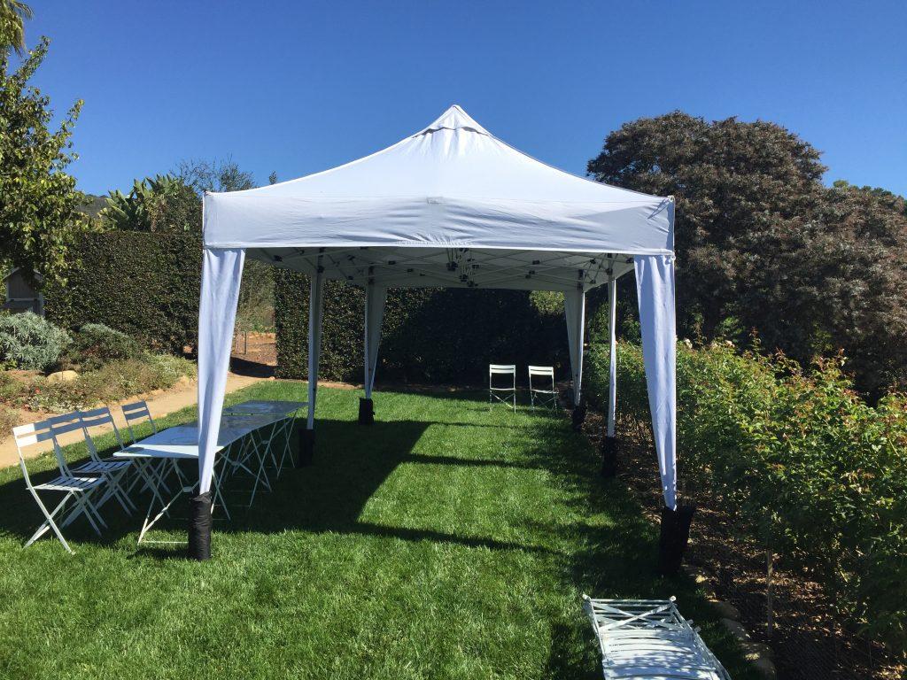 10x20 backyard tent