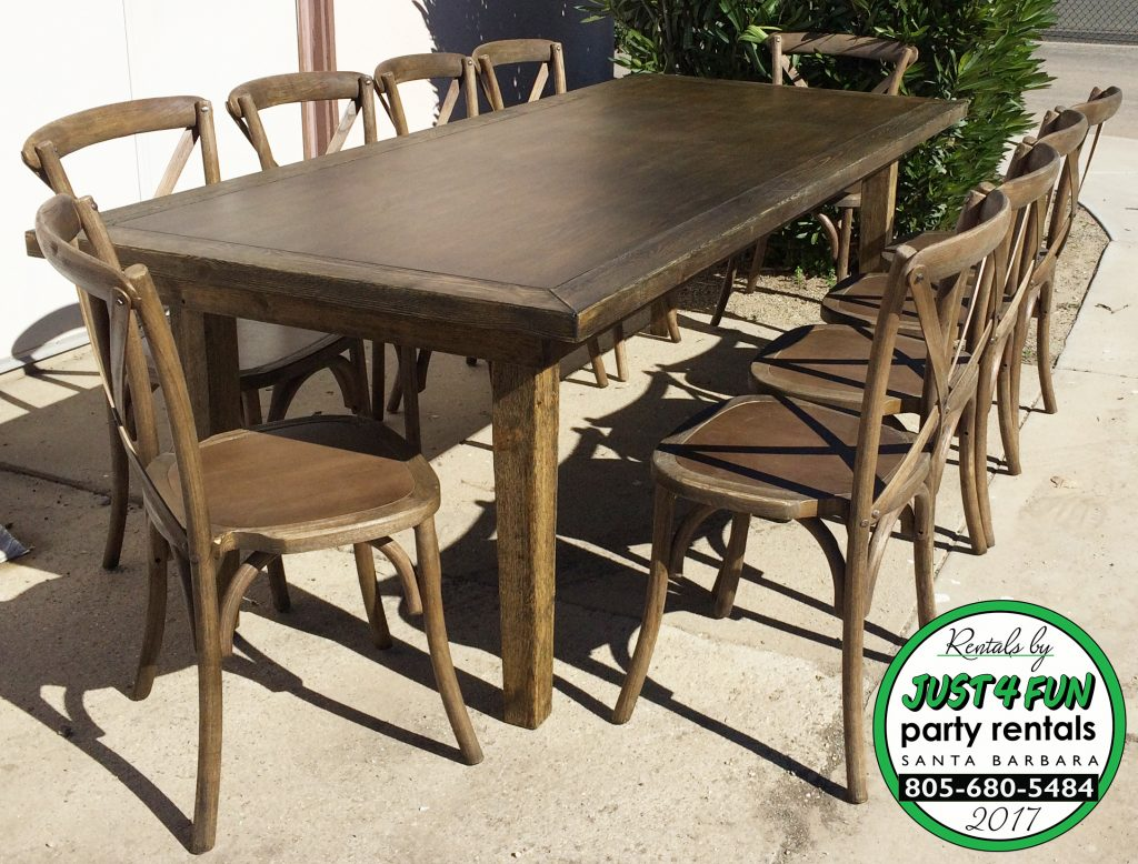farm table rentals santa barbara